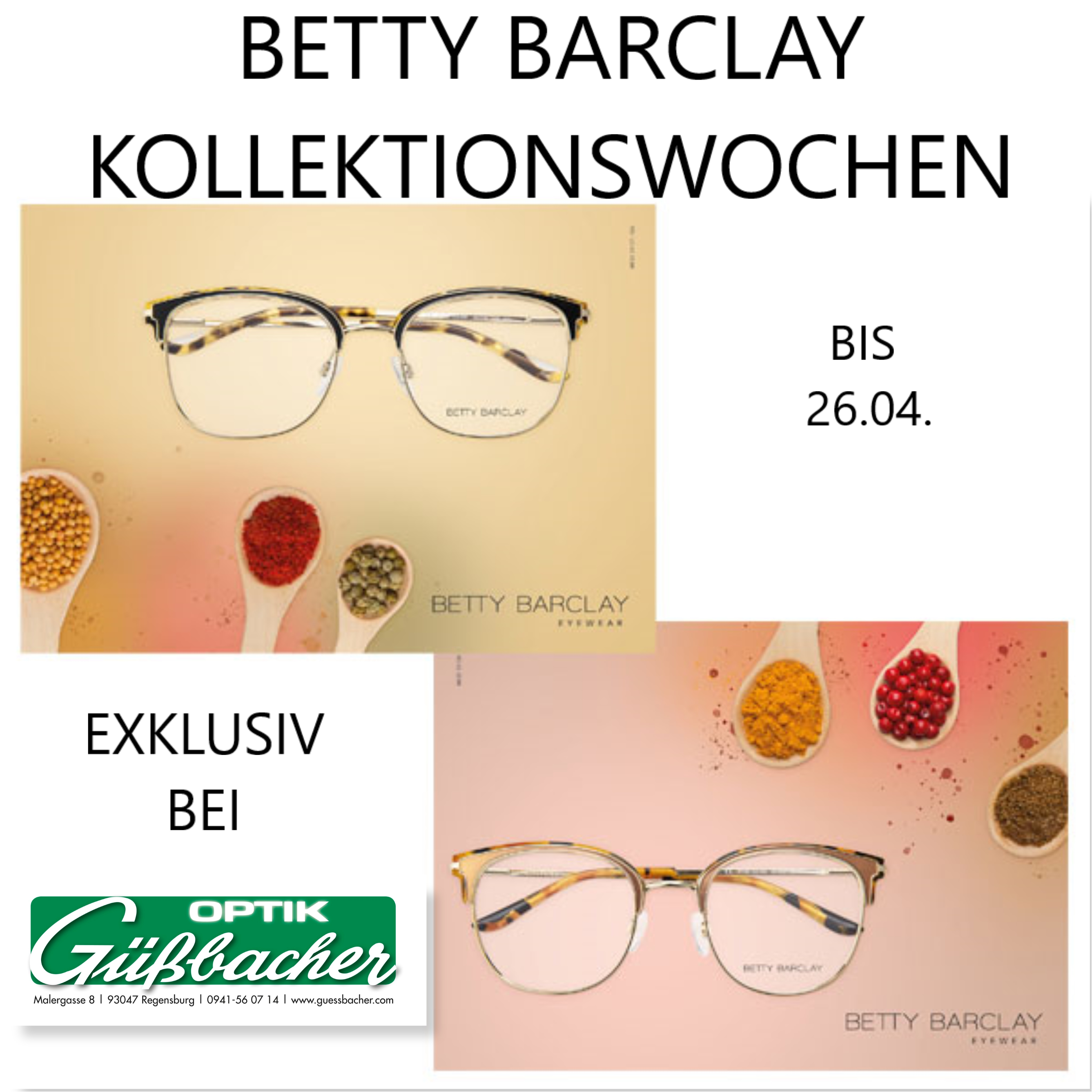 BETTY BARCLAY KOLLEKTIONSWOCHEN